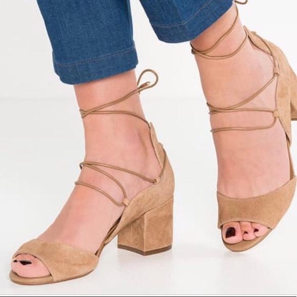 29e2aef86093 Sam Edelman serene suede lace-up sandals. M 5aa57a3d72ea88a589fd4dfd